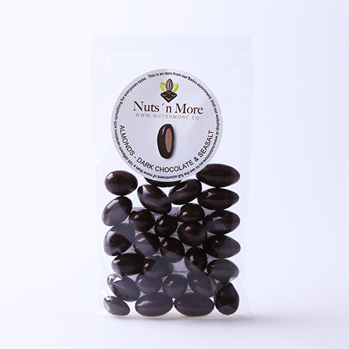 Mandler – Mørk chokolade & havsalt