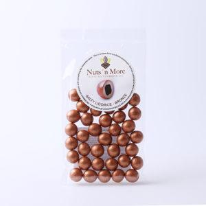 Salmiak lakrids – Hvid chokolade og bronze