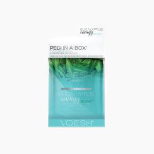 Fodpleje - Pedi in a Box deluxe, 4 step. Eucalyptus Energi Boost